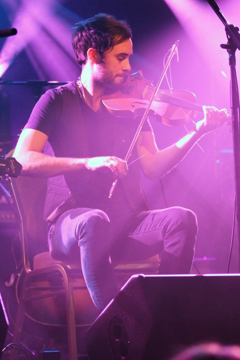 Tim Chaisson playing his fiddle during the ECMAs in Halifax. Alyssa Gallant photo.